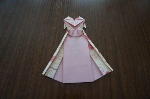 ドレスの折り方26-3