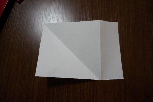正方形の折り方5