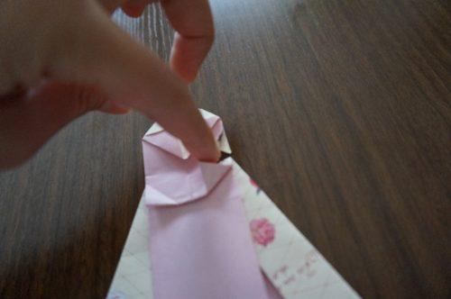 ドレスの折り方24
