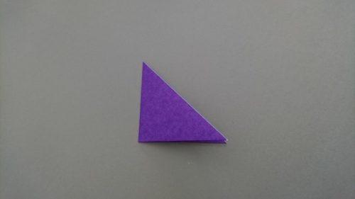 コウモリの折り方2
