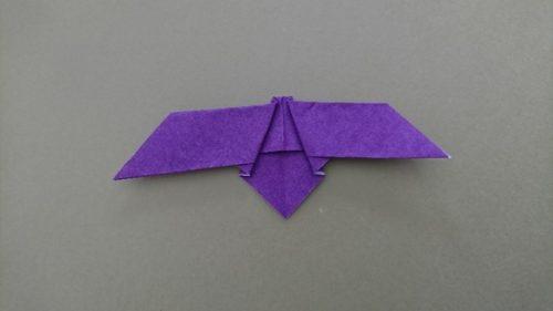 コウモリの折り方7