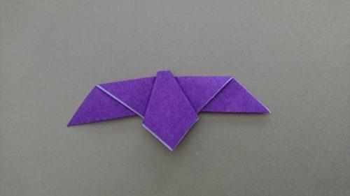 コウモリの折り方8