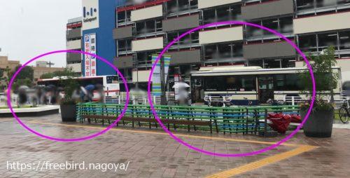 ららぽーと名古屋にバスで行く