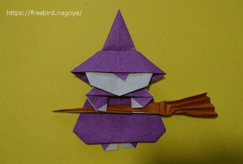 魔女を折り紙で作ることも出来る?手順を公開!