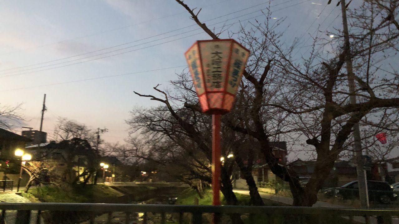 岩倉の桜祭りのライトアップ☆内容は?